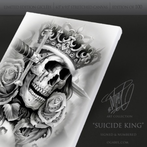 Suicide King (White)
